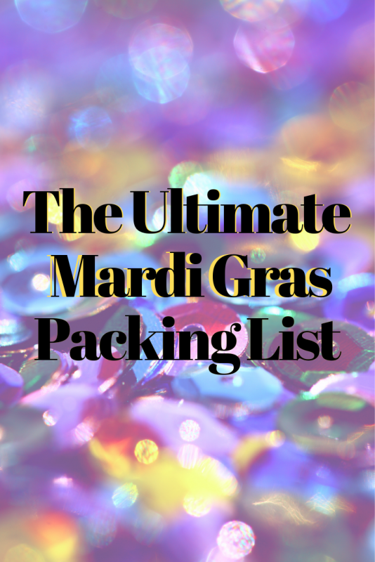 The Ultimate Mardi Gras New Orleans Packing List