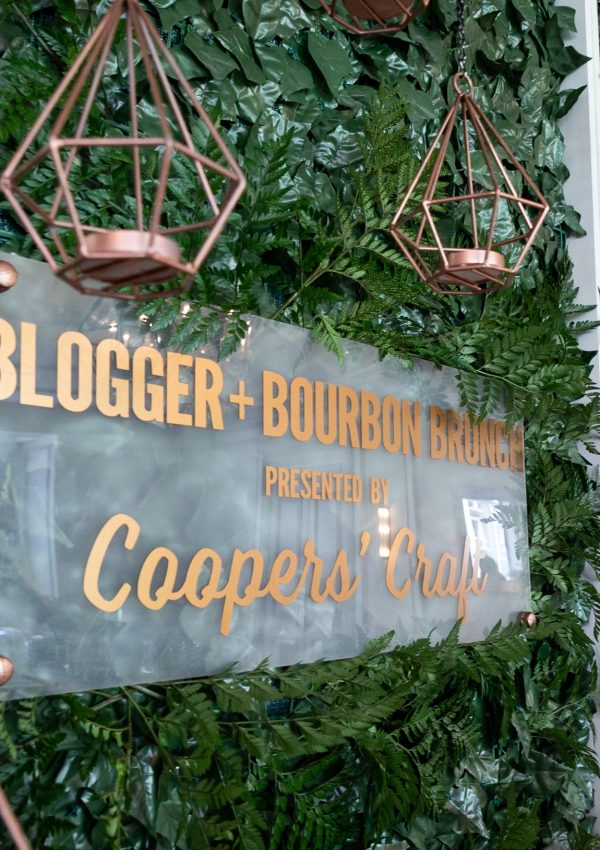 Coopers' Craft Bourbon Blogger Brunch