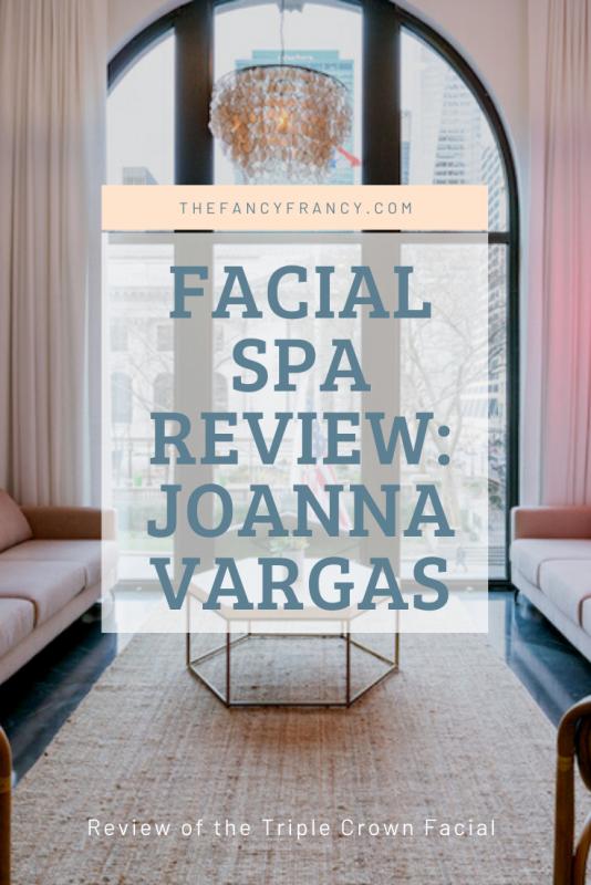 Facial Spa Review: Joanna Vargas