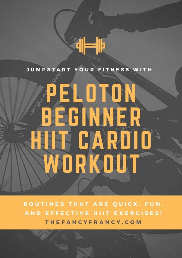 Best Beginner Peloton HIIT Cardio