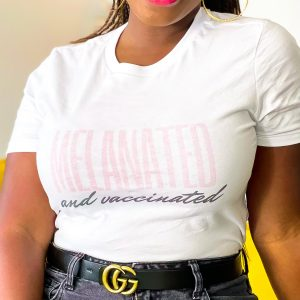 Melanated Vaccinated Shirt